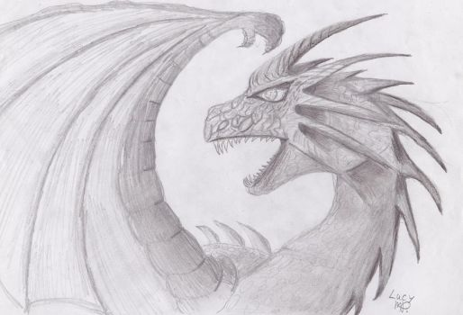 Dragon 2 by LucyMP