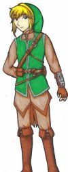 LoZ:CC - 10 Years Later - Link by galassiel