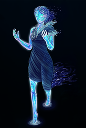 Conceptual Water Elemental by For3Art