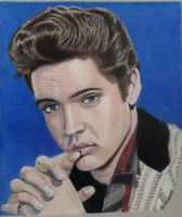 Elvis by drawman61