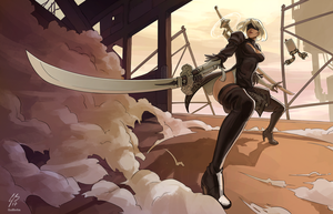 2B by vanillaGui