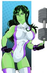 She Hulk by Zaatis