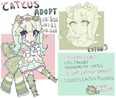 CATcus Adopt Auction [CLOSED] by hopehin