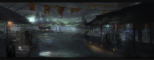 Chinese sea by eWKn