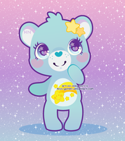 Wish bear by Miss-Glitter