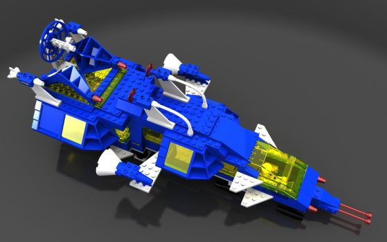 LEGO 6985 top view by zpaolo