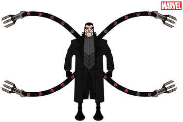 Marvel - Doctor Octopus 2014 by HewyToonmore