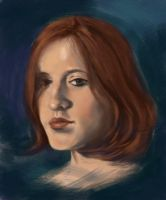 live drawing - cassie by cqb