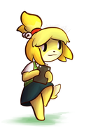 Animal Crossing New Leaf Isabelle by Wonder-Waffle