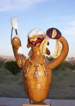Gourd Eagle Dancer by Thegourdhouse
