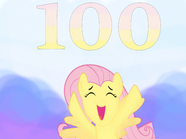 Yay...100Th Episode!! by SaraoooFluttershy