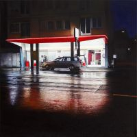 Tankstelle / Gas station by christopheberle