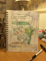 Bulbasaur??? by blackravenearth