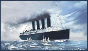 Lusitania's Final Day - Close-up by Eliott-Chacoco