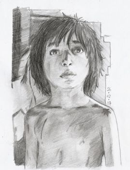 Mowgli the junggle book by YYunarto08