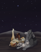 Stories and Stargazing - DotW by LunarShadowCreations