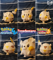 Pokemon Sun and Moon Papercraft ~ Togedemaru ~