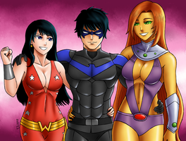 All the Girls Love Dick...Grayson by XenonVincentLegend
