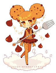 SWEETICALS: The Chocolate Chip Cookie by ScarletDestiney