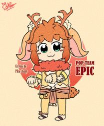 Watch pop team epic thank by Pika-chanY