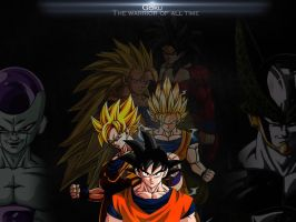 Dragon Ball The warrior of all time Il Gambero TGA by TheGraphicsArts