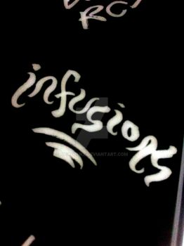 Infusions Name Sign by Shirozuke