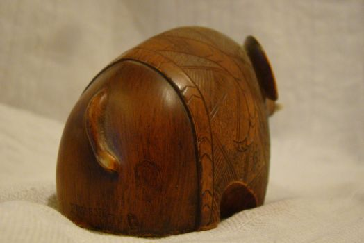 Wooden elephant 6 by Panopticon-Stock