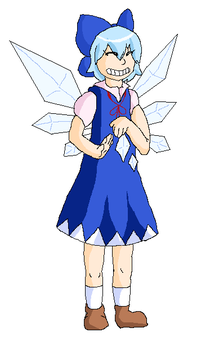Day 4 - Cirno by Dr-Quollchops
