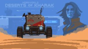 Deserts of Kharak tribute (2x zoom) by Weilard
