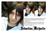 Cosplay project - Sebastian by ShadowFox-Cosplay