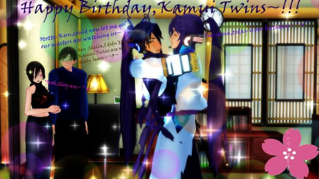 Happy Birthday Kamui Twins~! by Sheila-Sama-15