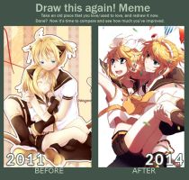 Draw This Again Meme by Rosuuri