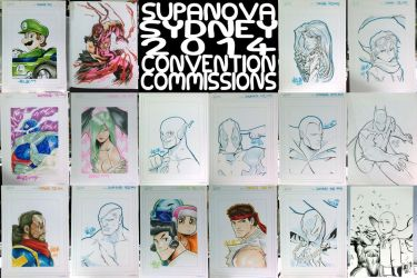 SUPANOVA Sydney - Convention Commissions by theCHAMBA
