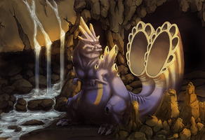 Deafening Cave Dragon