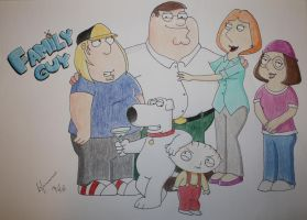 Lucky There's A Family Guy by Malamarvellous