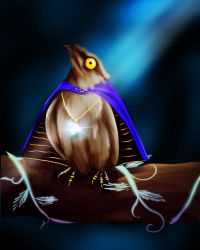 The potoo of fate  by Great-Skua