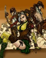 X-Men Steampunk by Ronron84