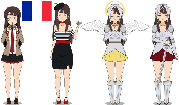 International Magical Girl Challenge! France by Starlight-Moon-AF