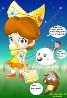 Baby Daisy's mallet by Bowser2Queen