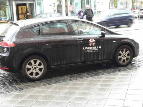 Umbrella Corp. car by das-chu