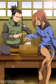 AT Playing Shogi by StillDollSawaii