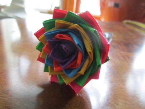 Duct Tape Flower 2 by SharpieObsessed
