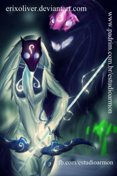 KINDRED - League of Legends by ErixOliver