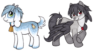 MLP: Marcos and Bran by neon-possum