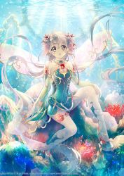 Fairy Underwater by Kaze-Hime