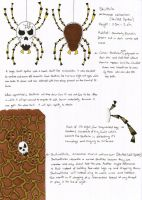 Skulltula and Skullwalltula Field Guide by shadowprincess104