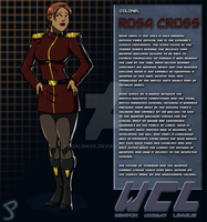 Rosa Cross Bio by Dualmask