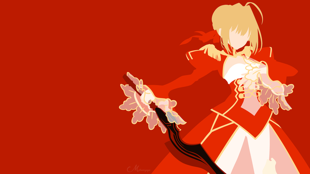Nero Claudius Saber from Fate/Grand Order by matsumayu
