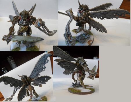 Chaos Space Marines Daemon Prince by Dible