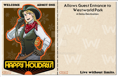 2016 Holiday Postcard by laurbits